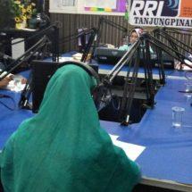 Sekjen Kepri Peduli Satrio,MA Sosialisasi Peduli Muslim Rohingya Di RRI