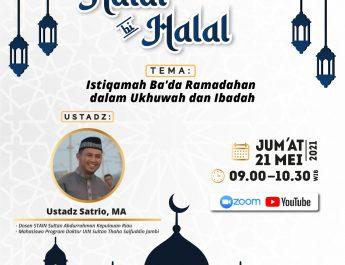 Fakultas Kedokteran Universitas Andalas Sumatra Barat Akan Gelar Halal Bi Halal Undang Satrio,M.A Dosen STAIN SAR Kepri