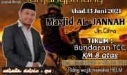 Bikers Subuhan Tanjungpinang Undang Satrio,M.A Tausiah Masjid Al Jannah Tanjungpinang